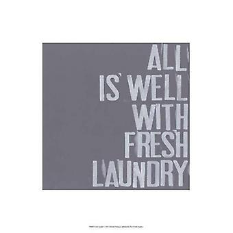 Fresh Laundry I Poster Print by Deborah Velasquez (13 x 19)
