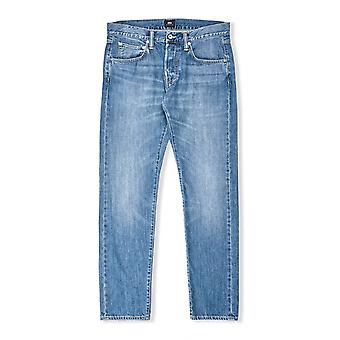 Edwin ED-55 Regular Tapered Jeans (Clean Wash)