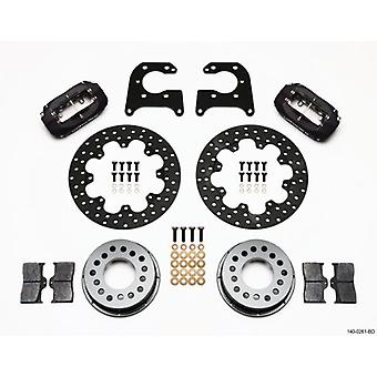Wilwood 140-0261-BD Dynalite Drag Rear Brake Kit for Big Ford with 2.36