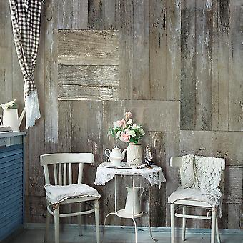 Wallpaper - Rustic Style