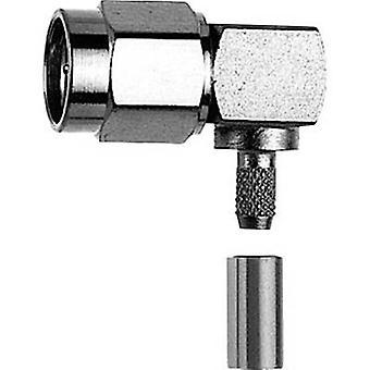 SMA connector Plug, right angle 50 Ω Telegärtner J01150A0521 1 pc(s)