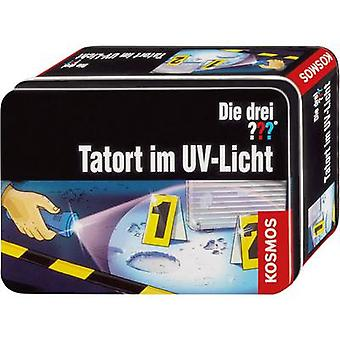 Science kit (set) Kosmos Die drei ??? - Tatort im UV-Licht 631925 8 years and over