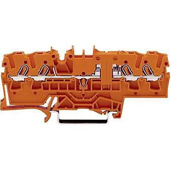 WAGO 2002-1802 Continuity 5.20 mm Pull spring Orange 1 pc(s)