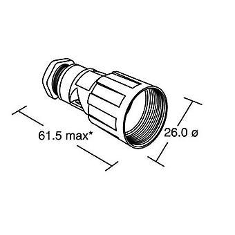 Bulgin PX0800 - IP68 Connector Body, Mini Buccaneer, Flex Cable Mount