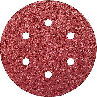 Router sandpaper set Hook-and-loop-backed, Punched Grit size 60, 120, 240