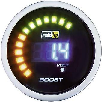hp ターボ圧力計 +3 に-1 を raid 12 v バー