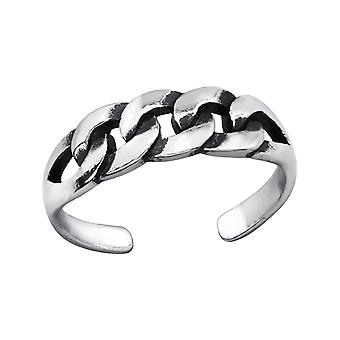 Fantasia - 925 Sterling Silver Toe Ring - W27629x