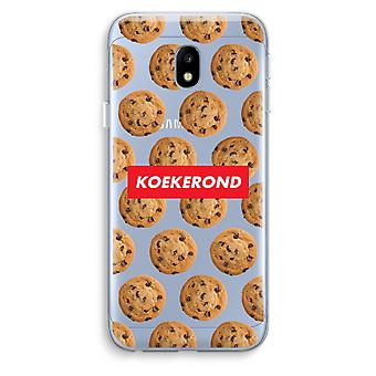 Samsung Galaxy J3 (2017) Transparent Case (Soft) - Koekerond