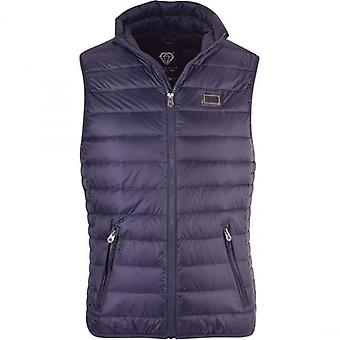 Born Rich By MONEY CLOTHING CORP Mens Lightweight Down Insulated Gilet Bodywarmer Sleeveless Vest Jacket