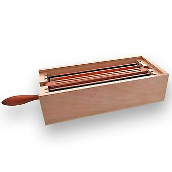 Storage box for 4 for exchange plattens Strop-it 77 Direct from France
