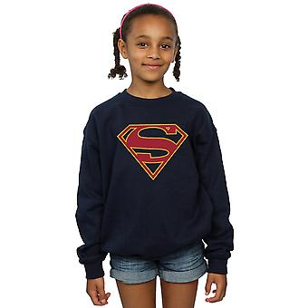 DC Comics Girls Supergirl Logo Sweatshirt