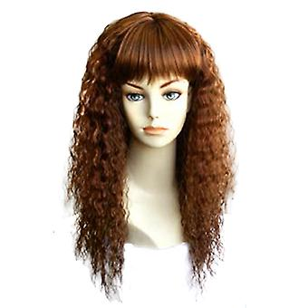 Fashion women long curly E HEATHER 27 30 professional wig