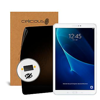 Celicious Privacy 2-Way Anti-Spy Filter Screen Protector Film Compatible with Samsung Galaxy Tab A 10.1 2016 (SM-T580)