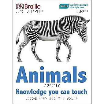 Animaux (édition Braille) par DK - livre 9780241228395