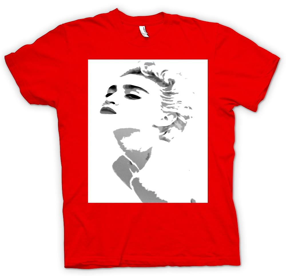 Mens T-shirt - Madonna - Grey