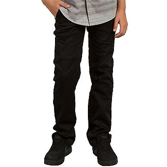 Kids Black Volcom Frickin Modern Stretch Pant