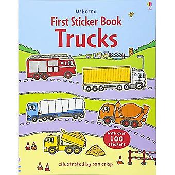 Ciężarówki naklejki książki