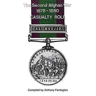 Zweiten afghanischen Krieg 1878-1880casualty Rolle