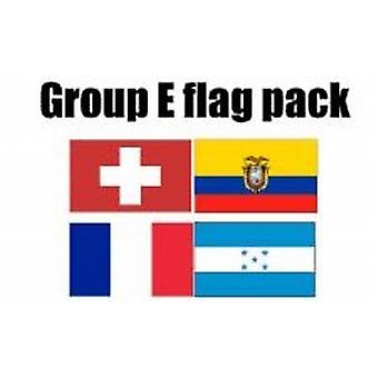 Gruppe E Football World Cup 2014 Flag Pack (5 ft x 3 ft)