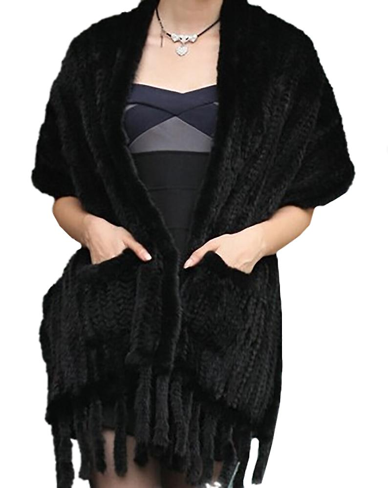 Waooh - mink scarf with pockets Regaya
