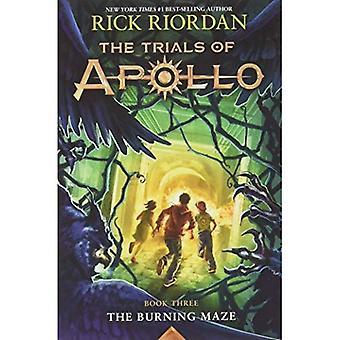 Prövningar av Apollo, boka tre: Burning labyrinten (prövningar av Apollo)