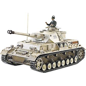 Taigen Hand Painted RC Tanks - Metal Upgrade - Panzer IV - 360 Turret