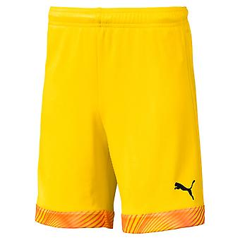 PUMA CUP s Jr kids of shorts Cyber yellow-black