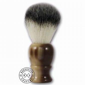 Executive Shaving Synthetic Hair Shaving Brush - Faux Horn