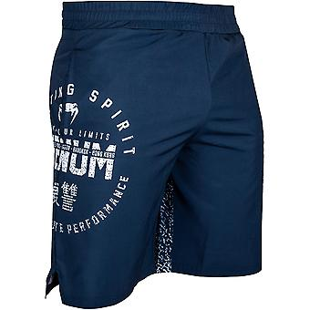 Venum Signature Training Shorts - Navy Blue/White