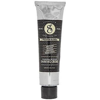 Suavecito Premium Blends Shaving Cream Sandalwood