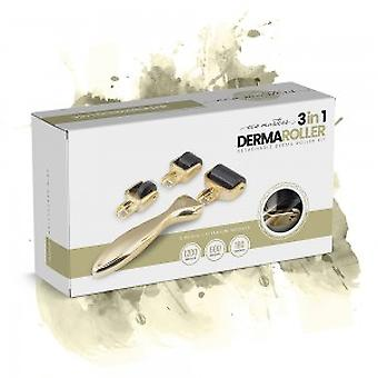 3 in 1 Dermaroller - Detachable Dermaroller Kit - 0.5mm Micro Needles for the Face and Body