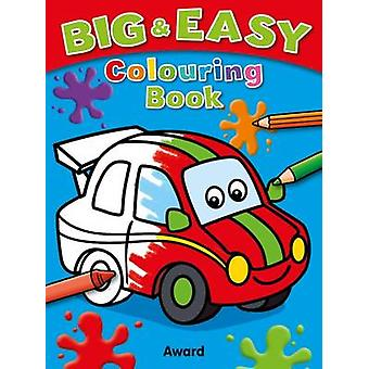Big and Easy Colouring Book - Car by Angela Hewett - 9781782701132 Bo