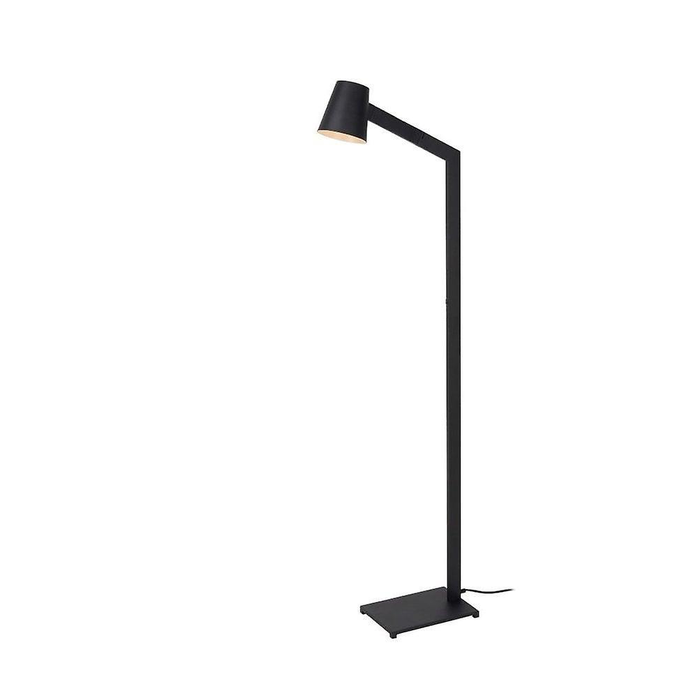 Lucide Mizuko Modern Round Metal noir Floor Lamp