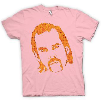 T-shirt-ritratto di Nick Cave