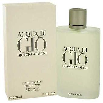Acqua Di Gio By Giorgio Armani Eau De Toilette Spray 6.7 Oz (men) V728-416545
