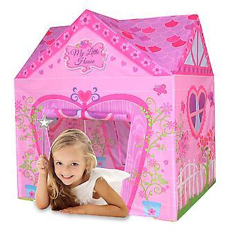 Charles Bentley My Little House Play Tent Girls Pink Playhouse Children Tent Den