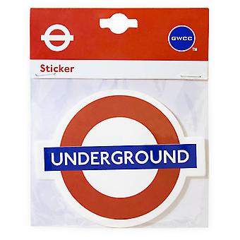 Tfl™5104 licensed no smoking roundel™ vinyl sticker
