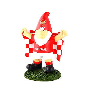 Arsenal FC Official Champ Football Crest Garden Gnome