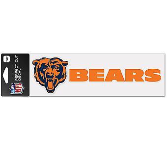 Wincraft klistremerke 8x25cm-NFL Chicago bjørner