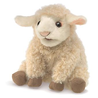 Hand Puppet - Folkmanis - Lamb Small New Toys Soft Doll Plush 3129