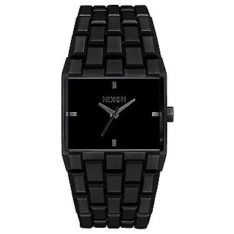 Nixon the ticket watch for Japanese Quartz Analog Man with A1262001 stainless steel bracelet