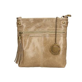 Leather shoulder bag Made in Italy P10034