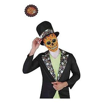 Rubie's Catrín Luxury Man Mask Skull Day Of The Dead (Babies and Children , Costumes)