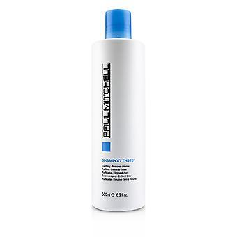 Paul Mitchell Shampoo Three (Clarifying - Removes Chlorine) - 500ml/16.9oz