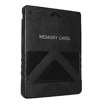 8mb memory card for sony ps2 & ps2 slim consoles [playstation 2] - black