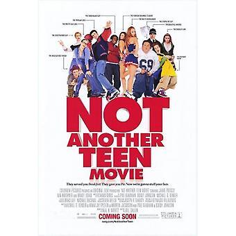 Nicht ein weiterer Teen Film (Doppelseitig) (2001) Original Kino Poster