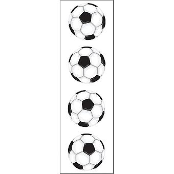 Autocollants Soccer Ball Mg199 de Mme Grossman 06563