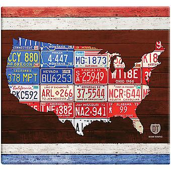 American License Plate Post Bound Scrapbook 12