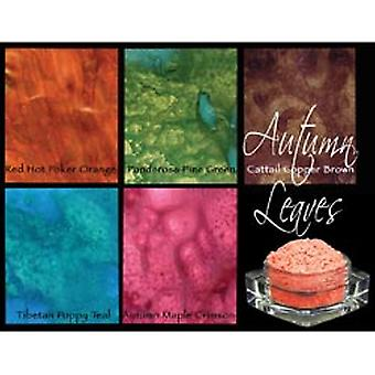 Lindy's Stamp Gang Magical Set .25Oz Jars 5 Pkg Autumn Leaves Magical 1
