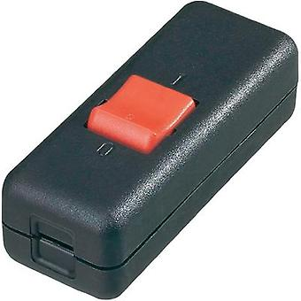 Pull switch Black, Red 2 x Off/On 10 A interBär 8010-004.01 1 pc(s)